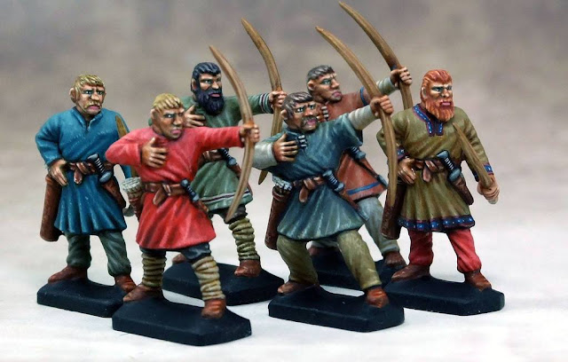 Gripping Beast: New Plastic SAGA and SwordPoint Dark Age Archers