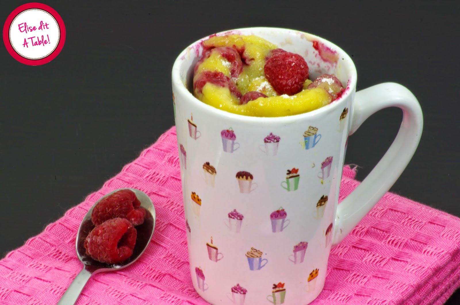 Mug Cake Oeuf