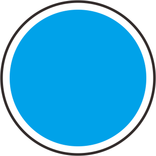 Template Pin Warna Biru