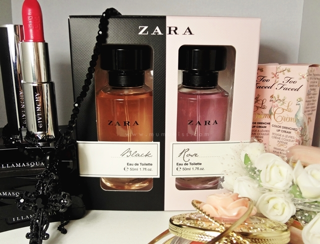 Review zara black zara rose eau de toilette eat sleep kiss this set consists of zara black and zara rose both are in eau de toilette concentration and each is 17 oz each retails for idr 179900 but in this set stopboris Images