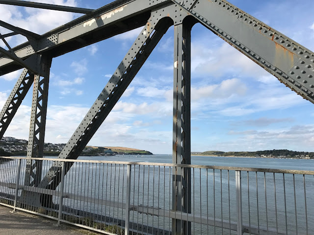 Iron bridge, Camel Trail, Padstow, Cornwall