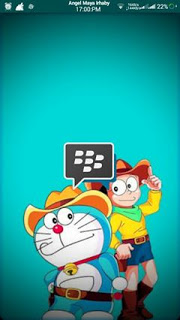 BBM Doraemon Base MOD Transparent v3.0.1.25 APK