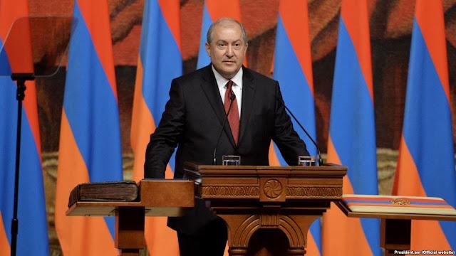 Armen Sarkisian cuarto presidente armenio
