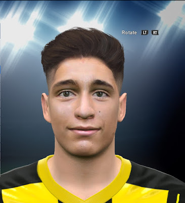 PES 2016 Emre Mor (Dortmund) Face by L.G.R Collab Alief