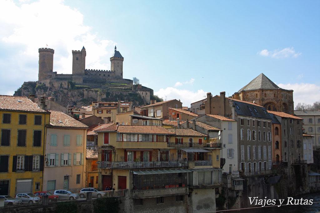 Río Ariege a su paso por Foix