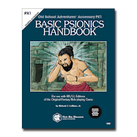 New Book From New Big Dragon Games Unlimited: Basic Psionics Handbook