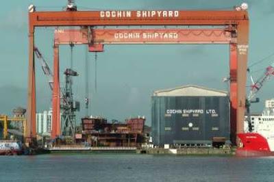 Cochin Shipyard Jobs