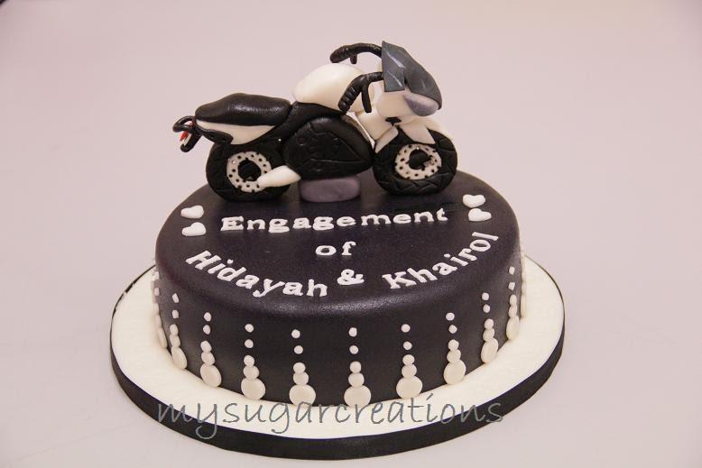 My Sugar Creations 001943746 M Motorbike Hantaran Cake