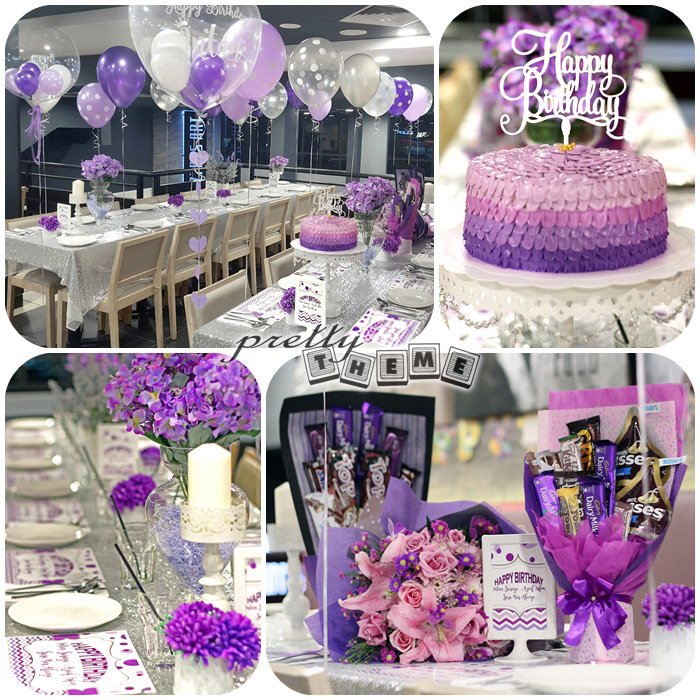 Pretty theme event planner surprise surprise junglespirit