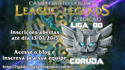 Liga do Coruja - Blog de Games e Humor:, streams, fotos, videos e League of Legends! LOL!: Hoje, dia 19, Finais da LKBL 2.o Temporada