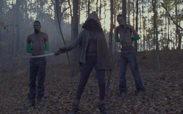 the walking dead green screen gloves
