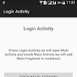 Android Fragmnet Example code with full stack maintain | Fragment demo application | Simple Fragment example with action bar back button stack handle