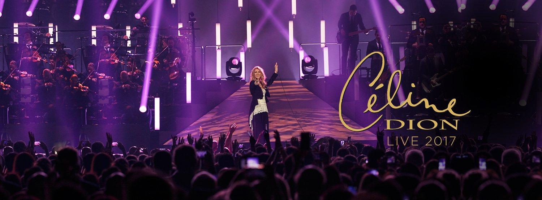 Celine dion c line dion live 2017 3 conciertos m s en for Conciertos paris 2017
