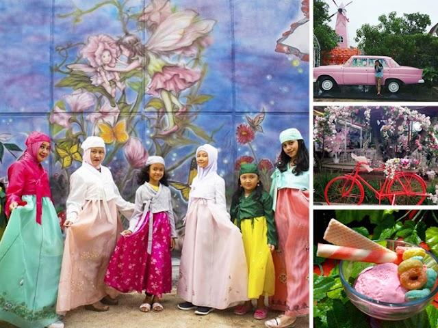 Taman Peri, Tempat Wisata Selfie dan Kuliner Favorit di Bandung Timur