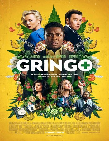 Gringo (2018) English 480p WEBRip 300MB