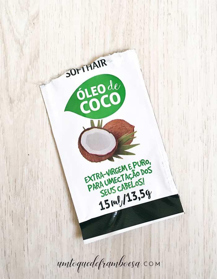 Resenha óleo de coco SoftHair