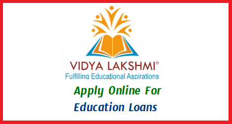 Vidya Lakshmi is a first of its kind portal for students seeking Education Loan. This portal has been developed under the guidance of Department of Financial Services (Ministry of Finance), Department of Higher Education (Ministry of Human Resource Development) and Indian Banks Association (IBA). The portal has been developed and being maintained by NSDL e-Governance Infrastructure Limited. Students can view, apply and track the education loan applications to banks anytime, anywhere by accessing the portal https://www.vidyalakshmi.co.in