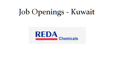 REDA Chemicals Job Openings | Kuwait - thozhilavasaarngal