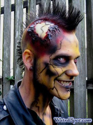 hairstyel clebrtiy crazy man style