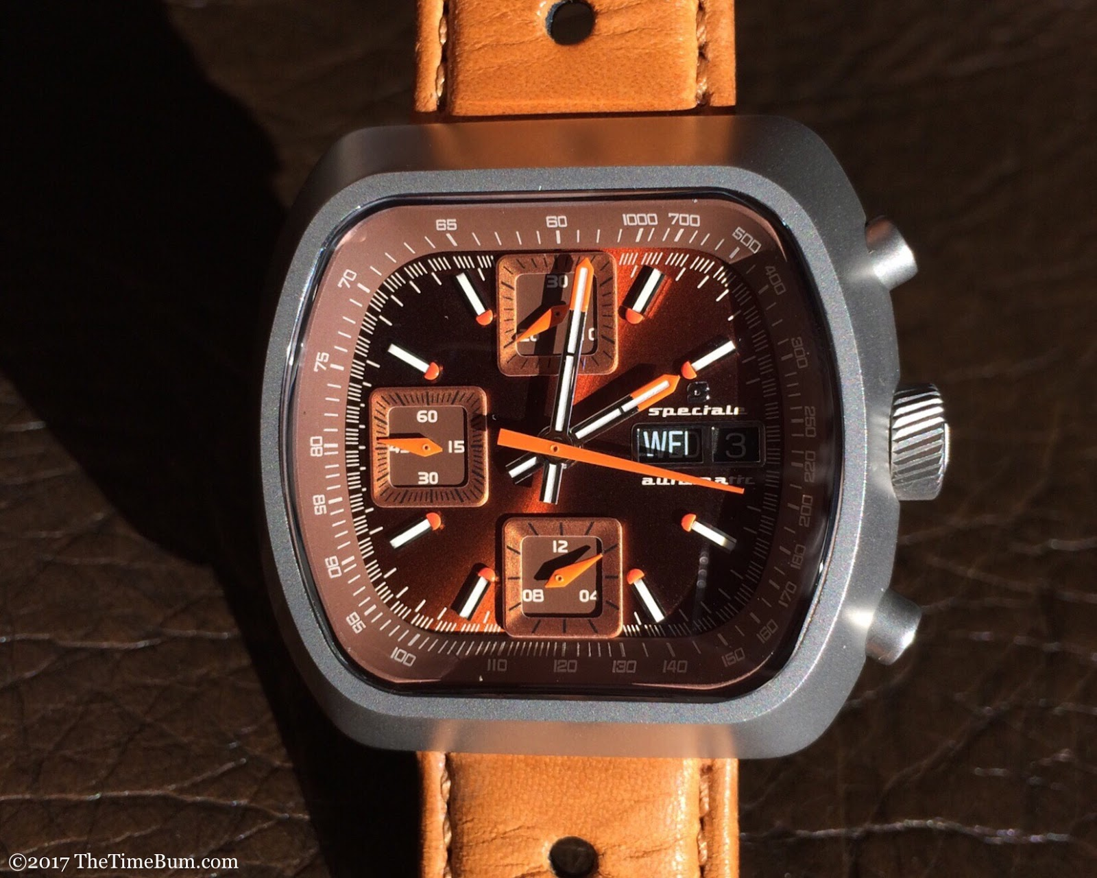 Straton Speciale brown automatic