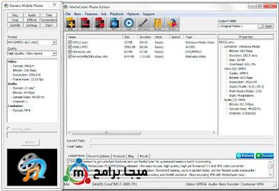 تحميل برنامج تحويل الفيديو MediaCoder Web Video كامل