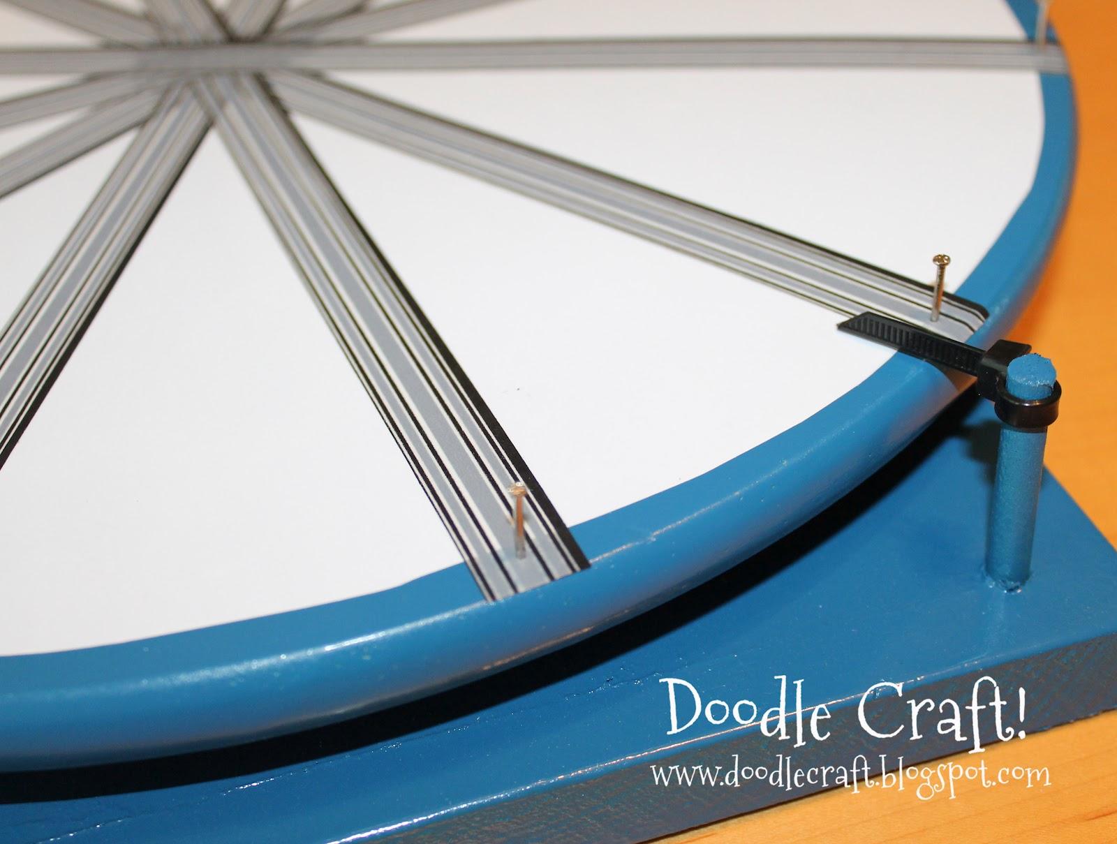 Super Spinning Prize Wheel Diy