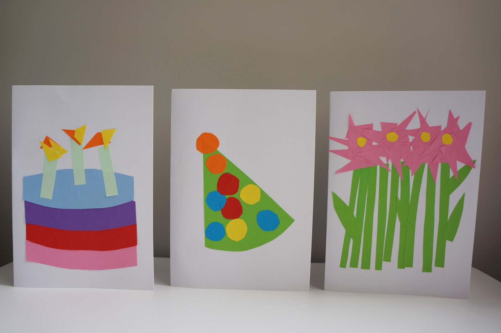 How To 3 Easy Birthday Card Crafts To Do With Toddlers