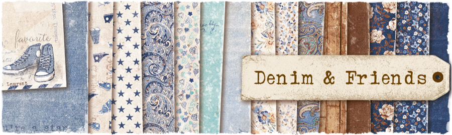 Denim & Friends Layout Giveaway до 01/10