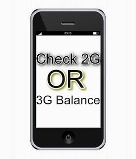 Check internet balance and Data usage on mobile