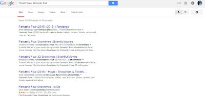 """Google ShowTimes"""