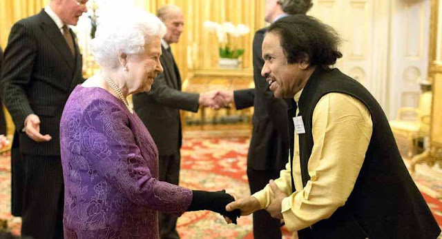 New Delhi, Dr. L Subramaniam, Queen Elizabeth II, Buckingham Palace, UK-India, Prime Minister Narendra Modi, Ambi Subramaniam, Cultural Festival of India at UK 2017