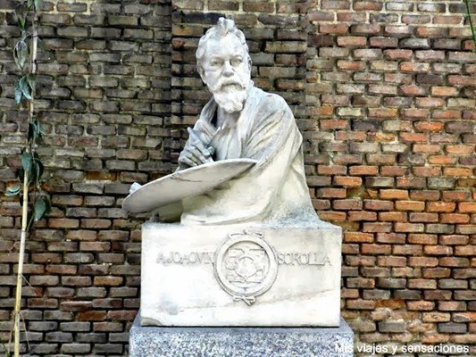 Busto de Sorolla, Casa Museo de Sorolla, Madrid