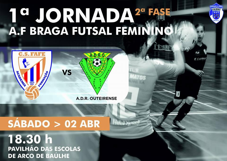 735c021d539a2 Futsal Fem   Clube de Saúde Fafe na 1.ª Jornada (2.ª Fase)
