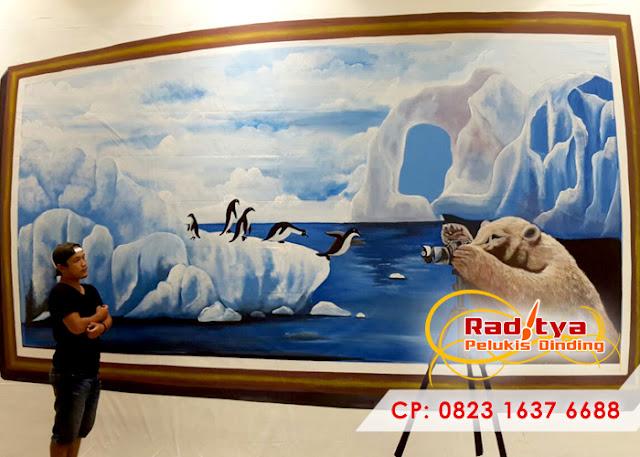 Lukisan Dinding Kamar 3 Dimensi