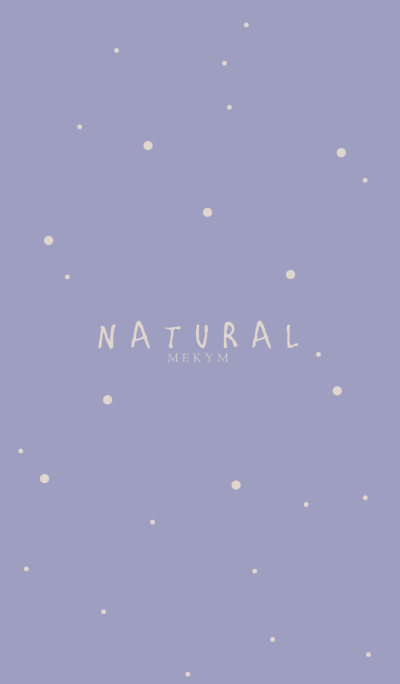 NATURAL -PURPLE- 2