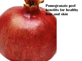 Pomegranate peel benefits for healthy hair and skin