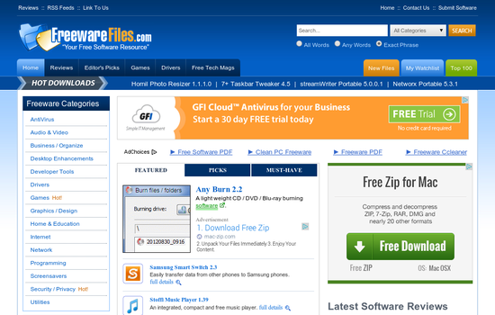 Freewarefiles-download-software