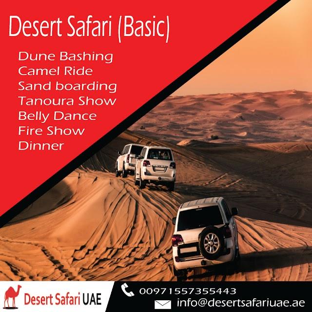 Why Desert Safari Is Referred To As A Backbone Of UAE?