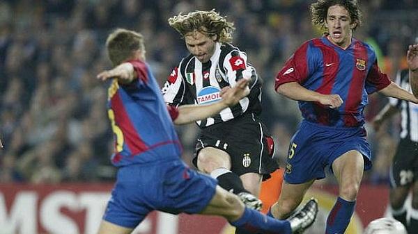 Juventus vs Barcelona musim 2002/2003