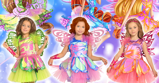 Winx Club Butterflix costumes [Russia]