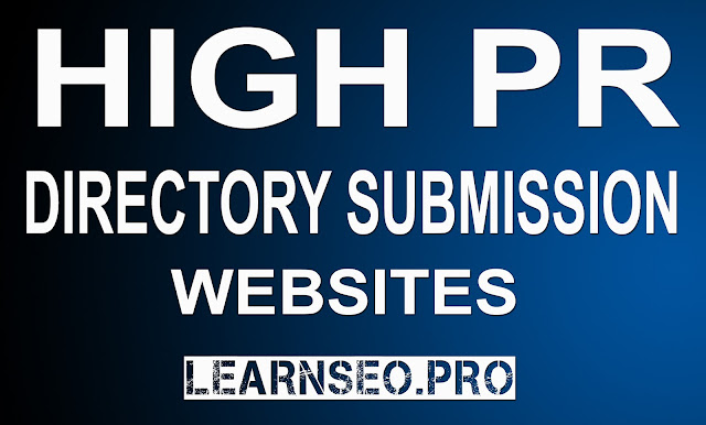 Directory Submission Site List