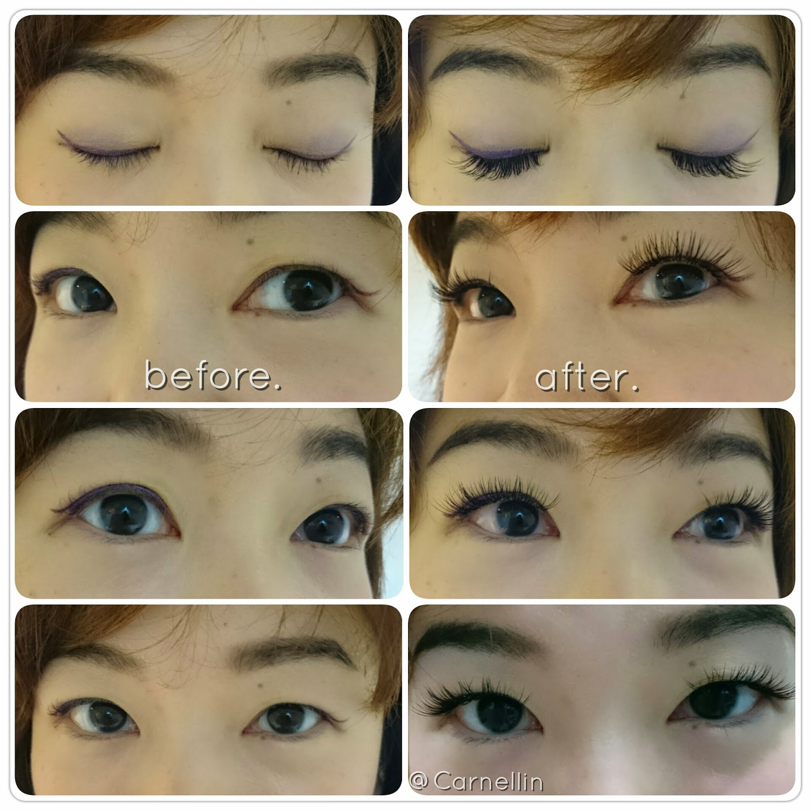 7bf89ff6015 I wish they also do a lower eyelash extension since the result is so good,  very comfortable, light and neat as well. I don't have to use a falsies now  for ...
