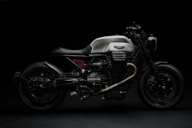 Moto Guzzi By GT MotoCycles Hell Kustom