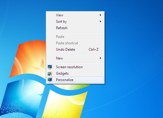mengganti theme windows 7