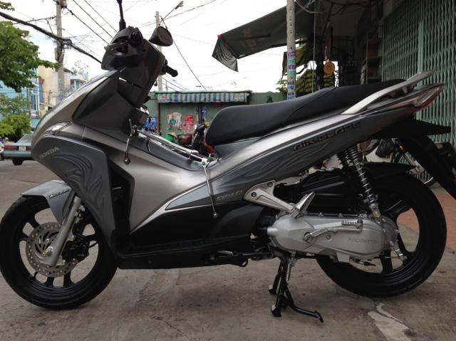 Sơn xe Airblade 110 màu xám 3D cực đẹp