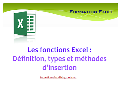 Les fonctions Excel  2016