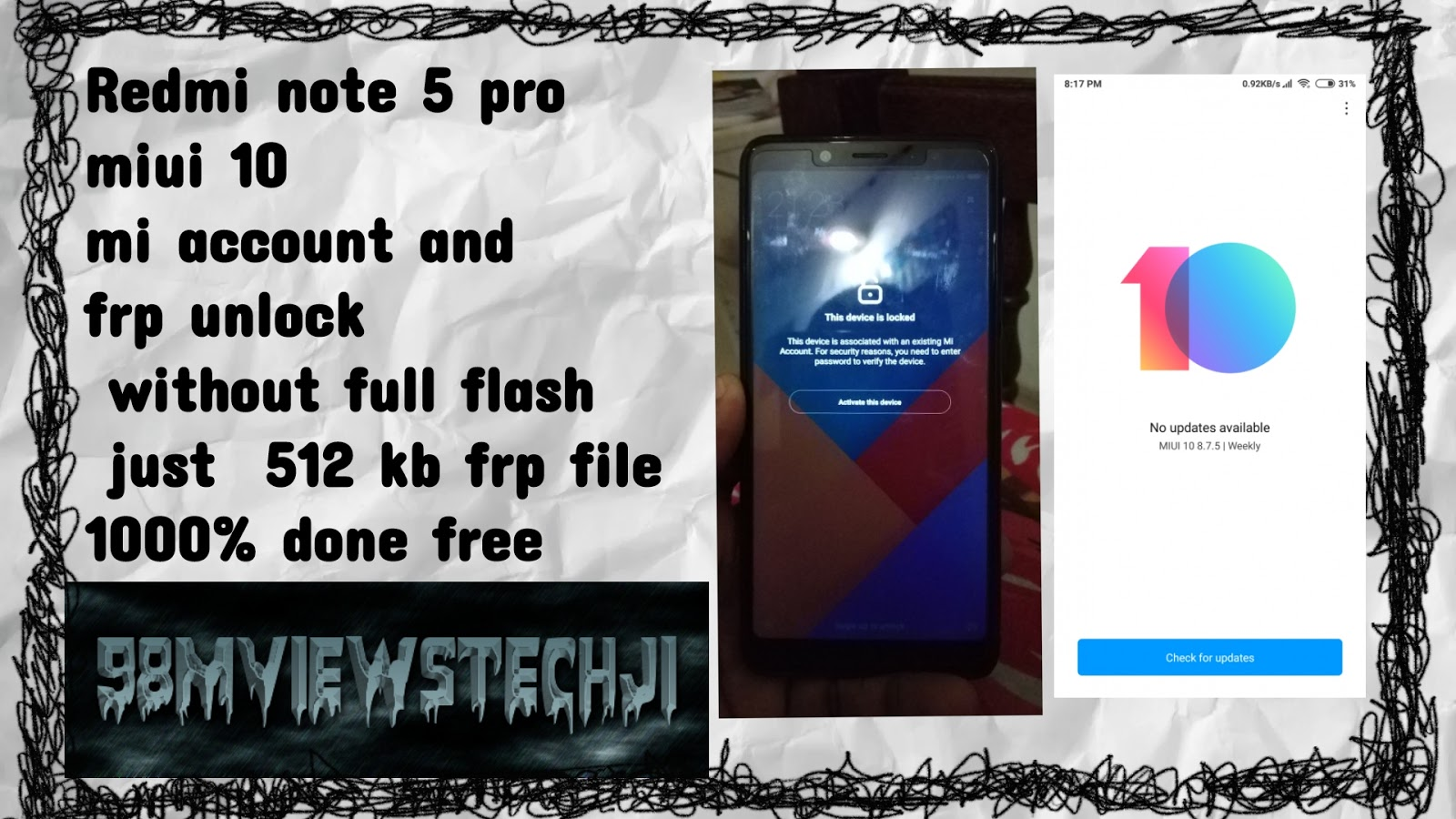 How To Remove Google Account In Mi Note 5 Pro How to Remove a Gmail