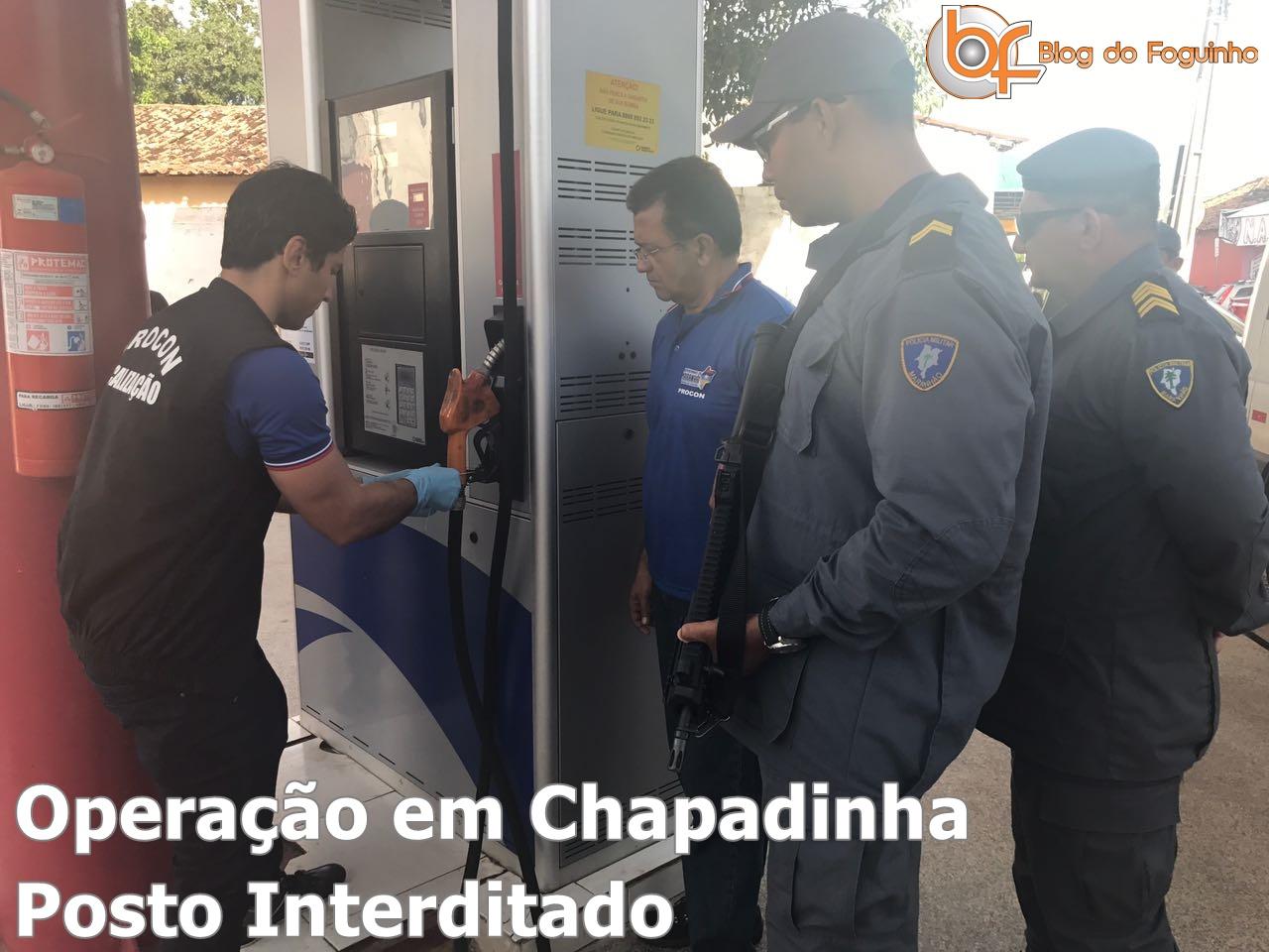Urgente! Operação do Procon Interdita Postos de Combustíveis em Chapadinha.