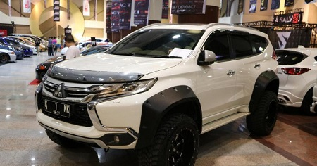 MODIFIKASI MITSHUBISHI PAJERO SPORTS