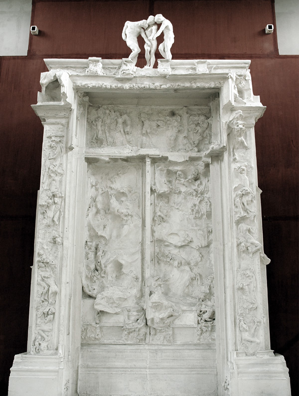 Artplastoc 537 l 39 oeuvre d 39 auguste rodin 1840 1917 2 la porte de l 39 enfer - La porte de l enfer rodin ...